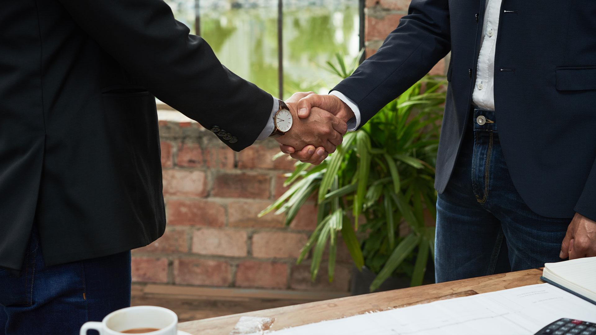 commercial cleaning kelowna penticton vernon kamloops handshake